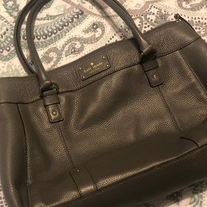 Charcoal Grey Kate Spade Purse